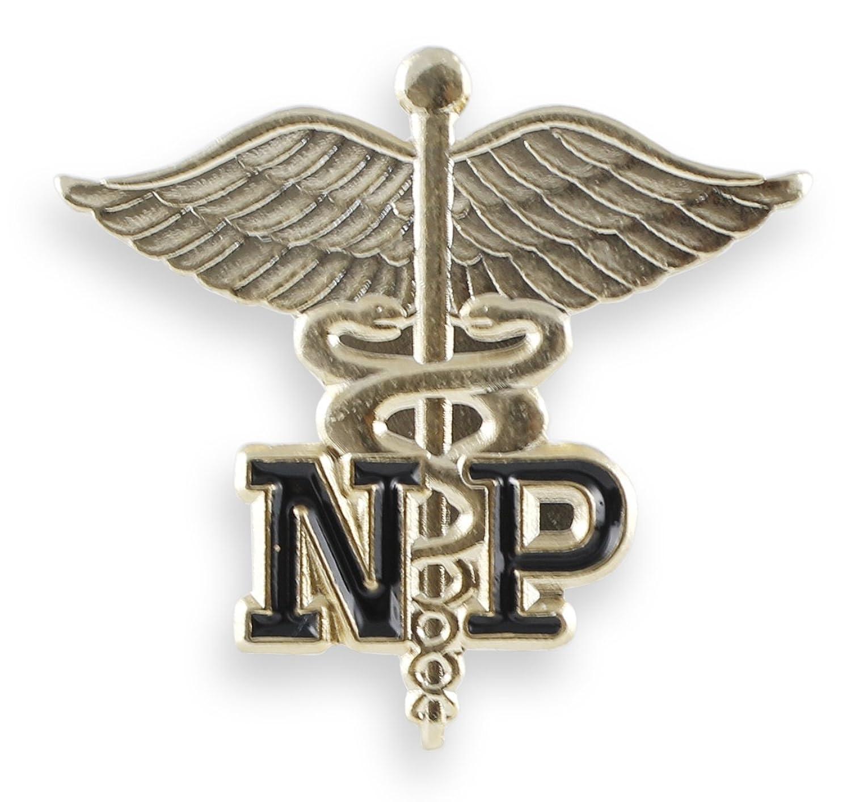 Amazon np nurse practitioner emblem pin caduceus 1 pin jewelry biocorpaavc