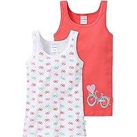Schiesser Camiseta de Tirantes (Pack de 2) para Niñas