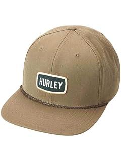 277a81f5af9711 Amazon.com: Hurley Flat Bill Six Panel Classic Adjustable Snapback ...