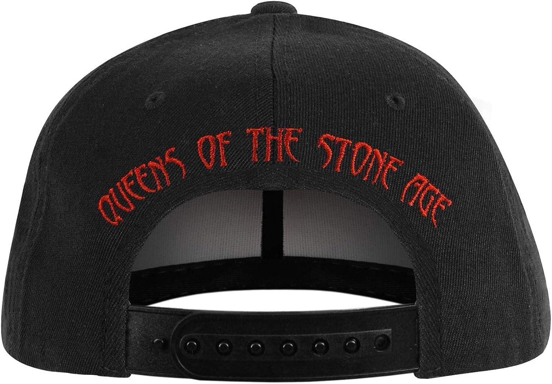 Queens of the Stone Age Mens Q Logo Baseball Cap Black