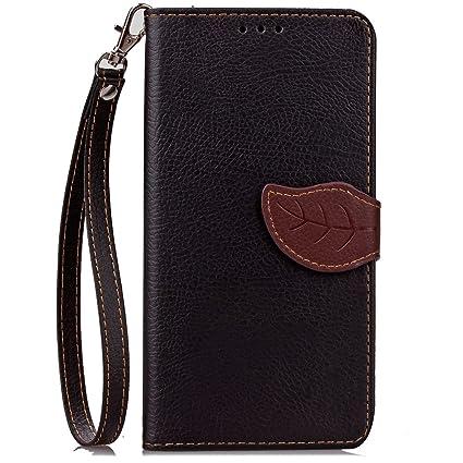 Compatible For Google Nexus 6P Wallet Funda,Carcasa PU Leather Cuero Flip Cover Hoja Cierre Magnético Función de Soporte Billetera Libro Tarjetas ...