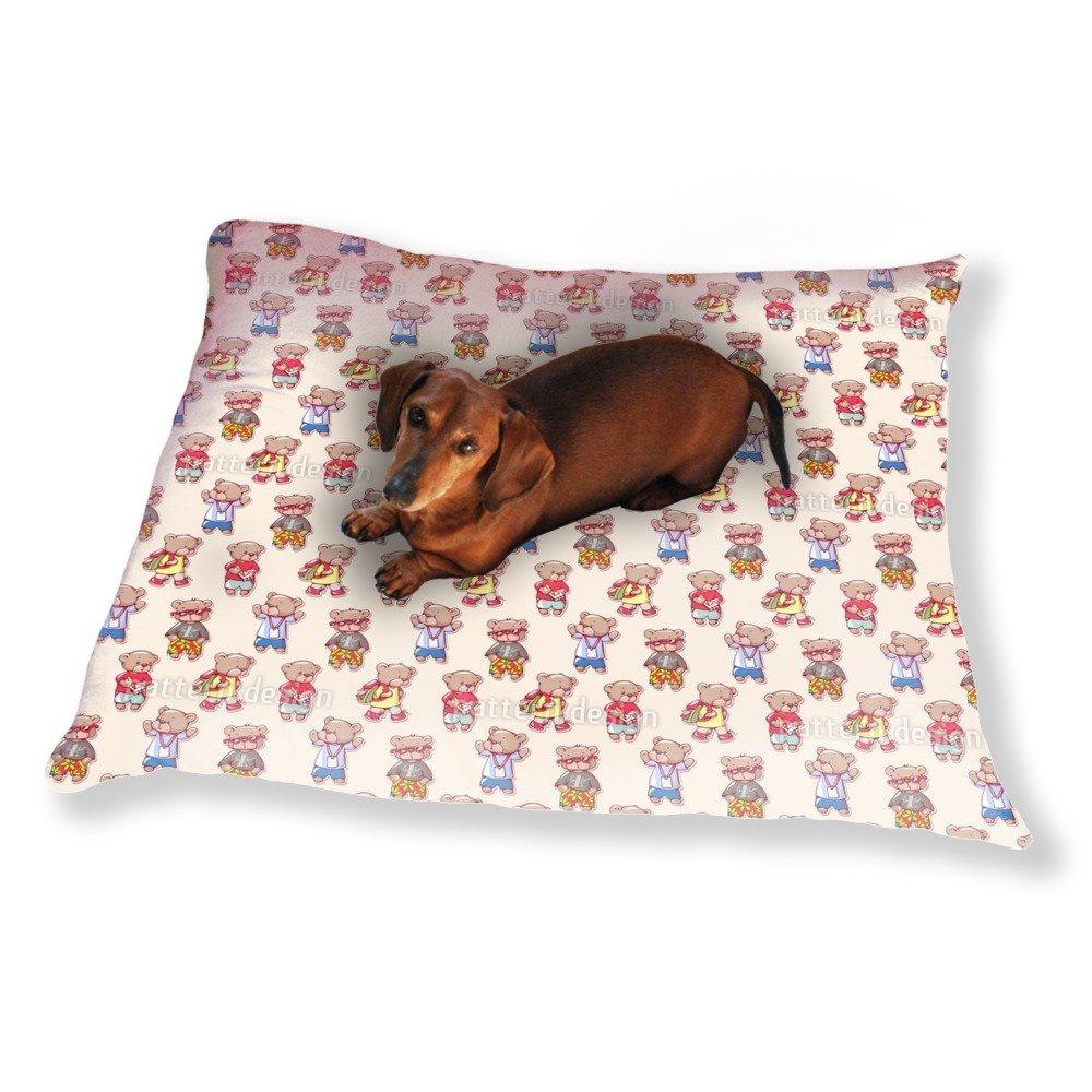 Teddy Bear Kids Dog Pillow Luxury Dog / Cat Pet Bed