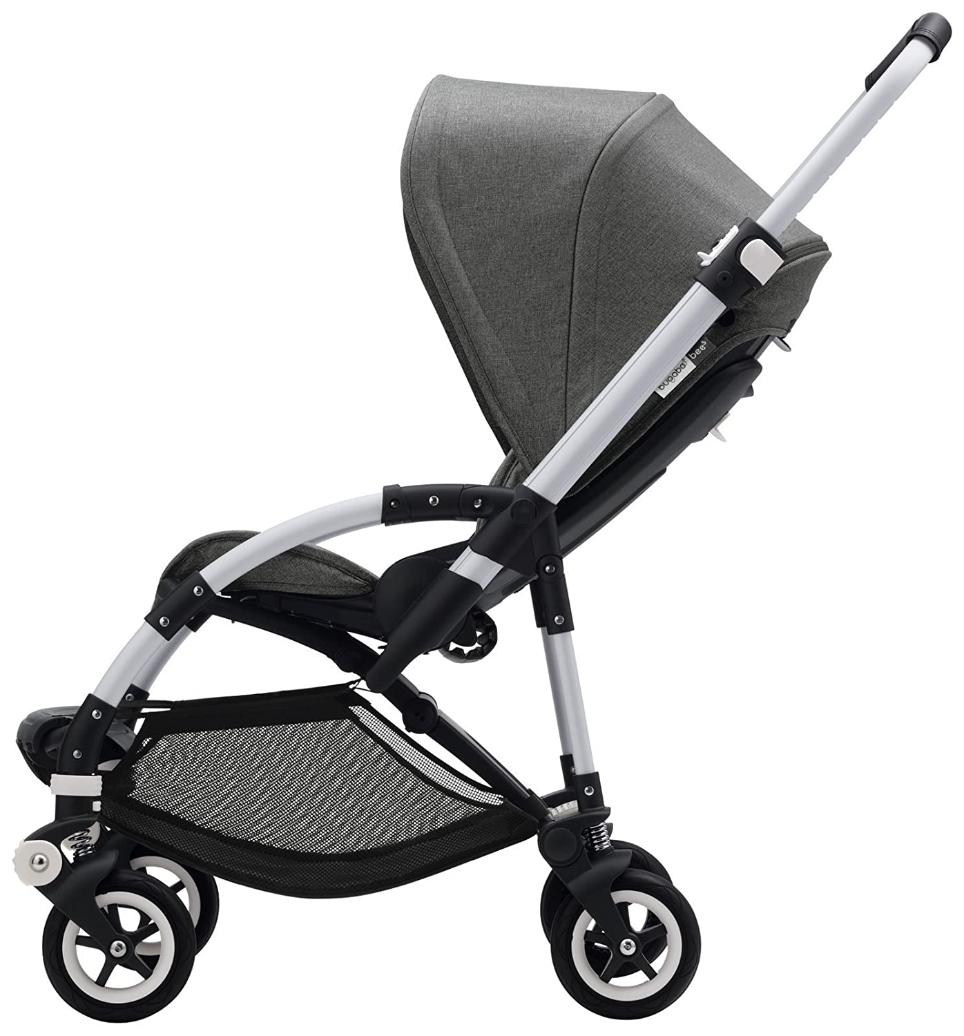 Machine Washable Extendable Sun Shade for Full Weather Protection Grey M/élange Bugaboo Bee5 Sun Canopy