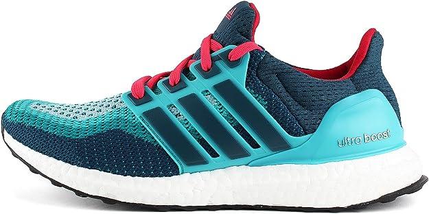 adidas Ultra Boost J, Zapatillas de Running Unisex niños, Verde/Azul/Rojo (Vertra/Minera/Rojimp), 38 2/3 EU: Amazon.es: Zapatos y complementos