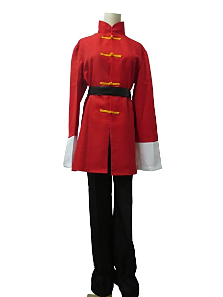 Amazon.com: Xiao Wu Ranma 1/2 Ranma Saotome Red Outfit Anime ...