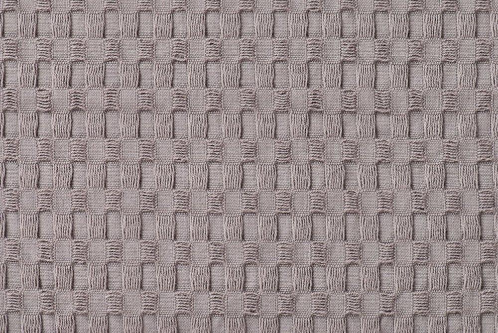 Gilden Tree 100% Natural Cotton Lattice Waffle Weave Bath Towel Set with Bath Mat (Slate) by Gilden Tree (Image #1)