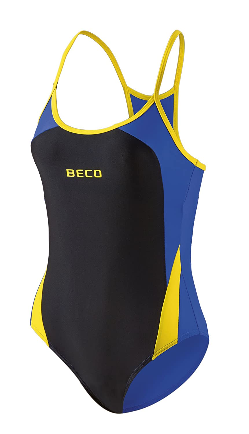 BECO Womens Swimming Costume Aqua Multi-Coloured