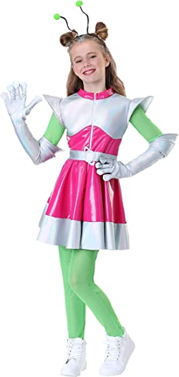 Amazon Com Girl S Outer Space Cutie Costume Clothing