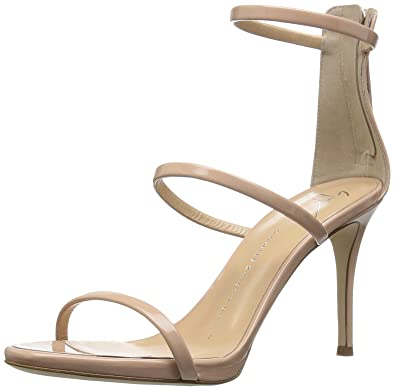53bc7ee07720 Amazon.com  Giuseppe Zanotti Women s E70092 Dress Sandal Blush 6.5 M ...