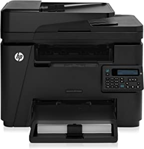 HP Laserjet Pro M225dn Monochrome Printer with Scanner, Copier and Fax, Amazon Dash Replenishment Ready (CF484A) (Renewed)