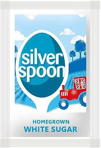 Silverspoon - Caja de sobres de azúcar (2,5 g, 1000 unidades): Amazon.es: Electrónica