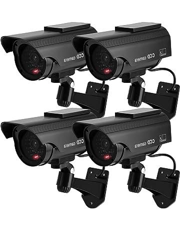 amazon simulated cameras electronics Web Camera 2018 toroton bullet dummy fake security cctv solar powered camera simulation monitor with led blinking light