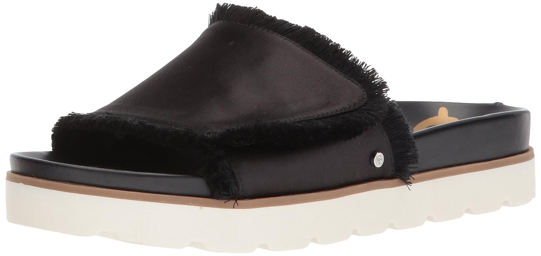 Sam Edelman Women's Mares Slide Sandal B06ZZQM9FT 5 M US Black Satin