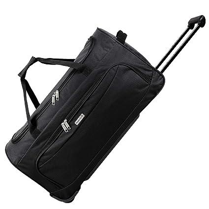 noorsk® XL Bolsa de Viaje | Travel Trolley Bag | Equipaje con Ruedas de Deporte