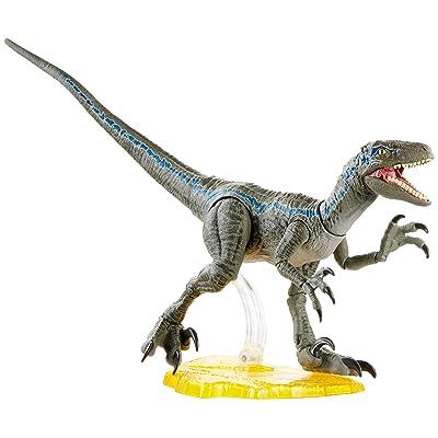 Jurassic World Toys World Velociraptor Blue Action Figure, Multi, Model:GJN93: Toys & Games