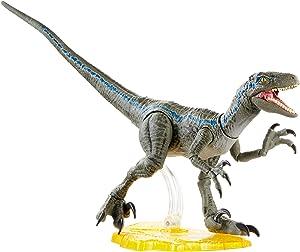 Jurassic World Toys World Velociraptor Blue Action Figure, Multi, Model:GJN93
