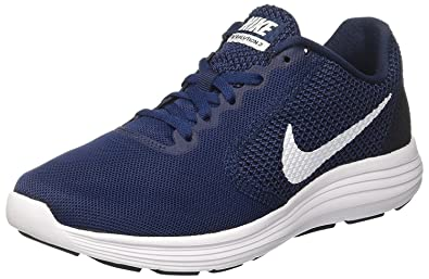 85eaf0751fc3 Nike Men s Revolution 3 Navy Blue Running Shoes  Buy Online at Low Prices  in India - Amazon.in