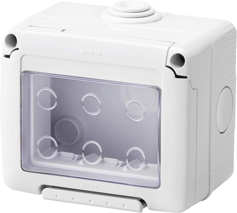 Gewiss GW27043 caja el/éctrica 99 mm, 65 mm, 82 mm Caja para cuadro el/éctrico