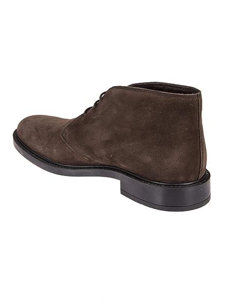 Tods Hombre Xxm45a00d80re0s800 Marrón Gamuza Zapatos