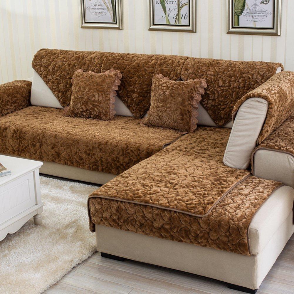 Amazon.com: SE7VEN Sofa Cushions Winter Thicken European ...