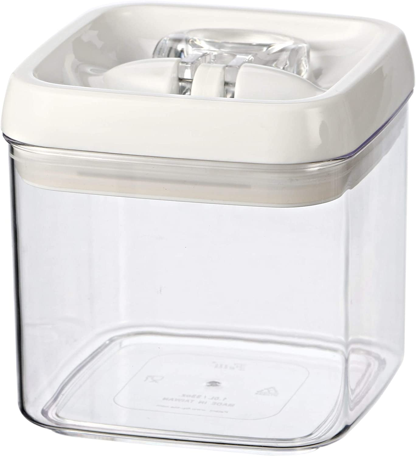 Amazon Com Felli Flip Tite 33 Ounce Food Storage Canister Kitchen Dining