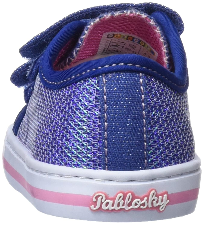 Pablosky Scarpe da Ginnastica Basse Bambina, Blu (Azul 939720), 22 EU