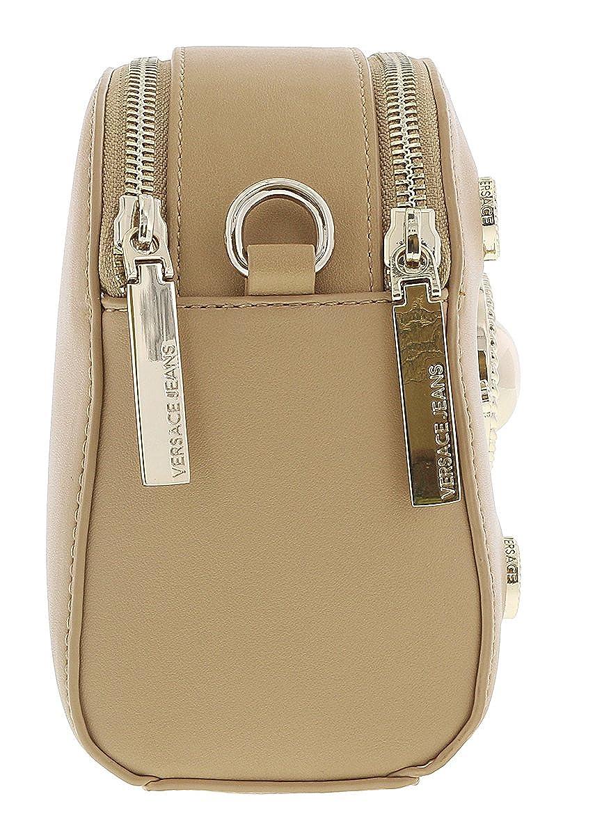 4c0eda93135c Amazon.com  Versace EE1VRBBV1 Light Brown Crossbody Bag for Womens  Shoes