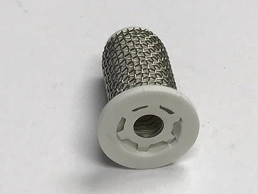 Teejet 4193A-PP-2-24SS Polypropylene Tip Strainer 24 Mesh with 2 PSI Check Valve