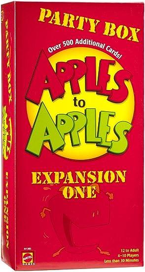 Mattel: Manzanas a las manzanas de expansión Party Box 1: Amazon.es: Juguetes y juegos