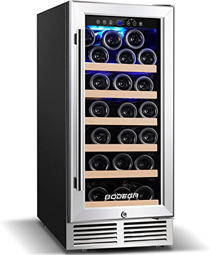 BODEGA-15-Inch-Wine-Cooler,-Upgrade-Wine-Refrigerator-31-Bottle