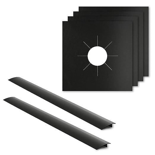 Amazon.com: amazeco paquete de 4 protectores de gama y de ...