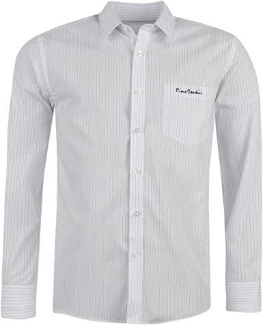 Pierre Cardin Camisa de Manga Larga para Hombre: Amazon.es ...
