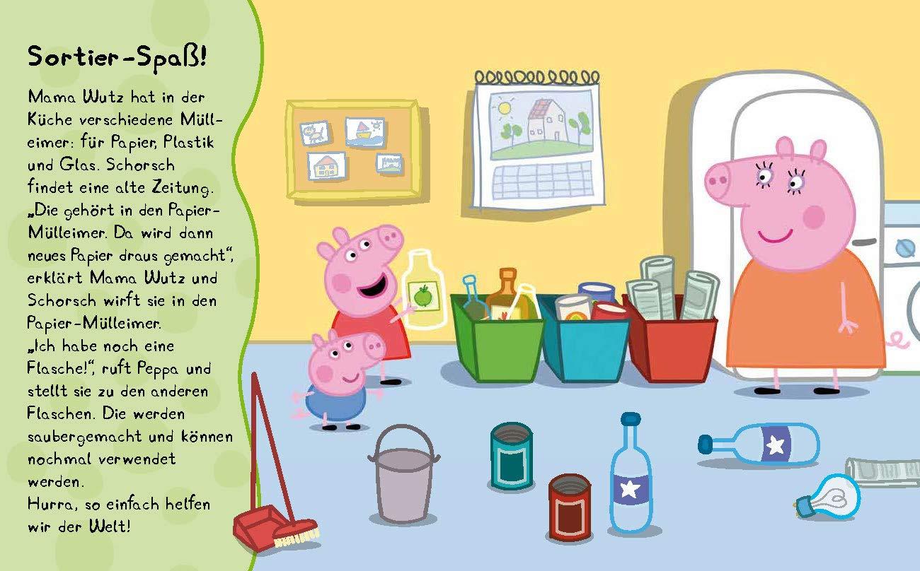 Peppas kleines Umweltbuch - Peppa Pig: Vorlesebuch mit