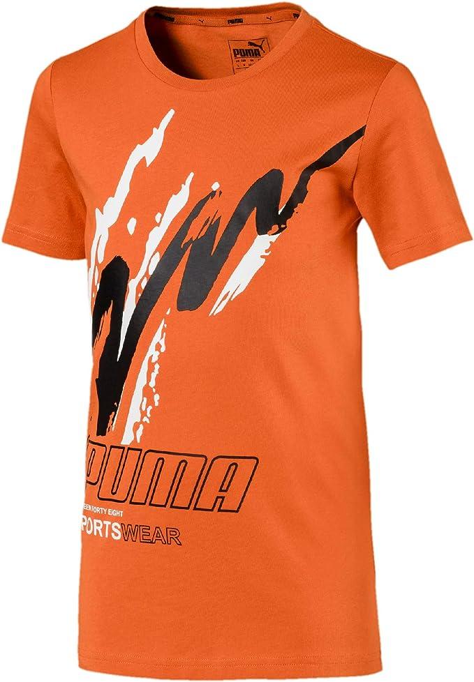 PUMA Jungen Active Sports Graphic Tee B T Shirt