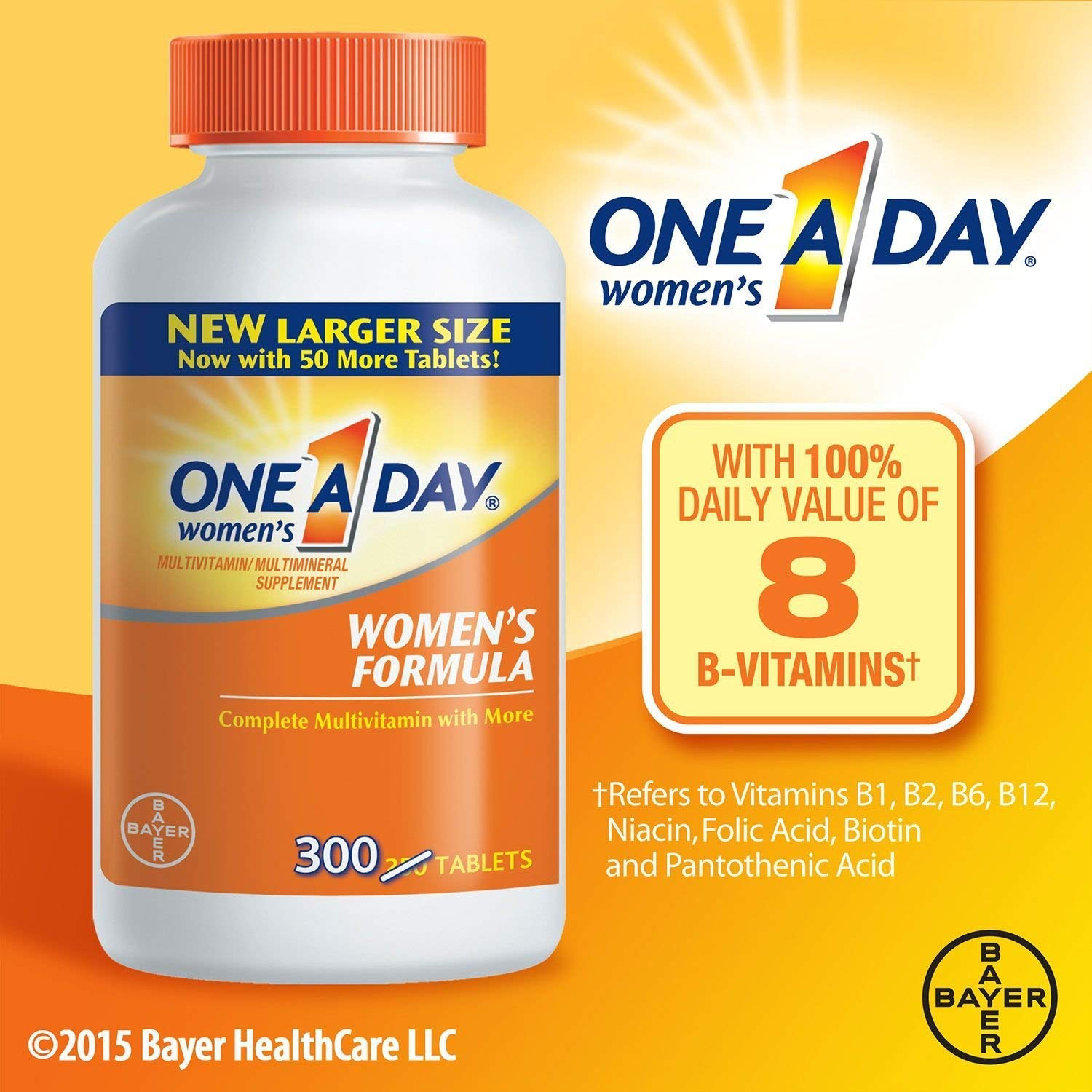 One A Day Women s Health Formula Multivitamin 300 ct.