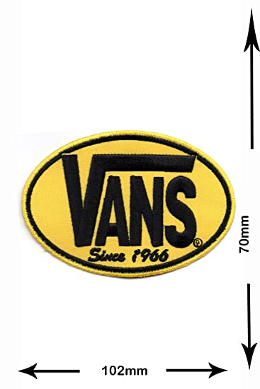 Patch Vans yellowgelb Since 1966 Patch iron on