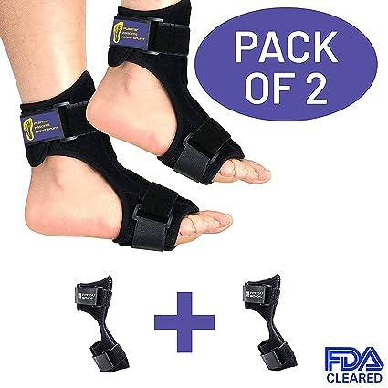 Everyday Medical Fersensporn Bandage   Fuß Orthese bei Plantarfasziitis zum Dehnen: Sprunggelenk, Knöchel, Fußgelenk & Achill