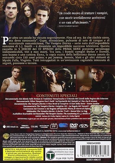 Titoli 4 stagione the vampire diaries