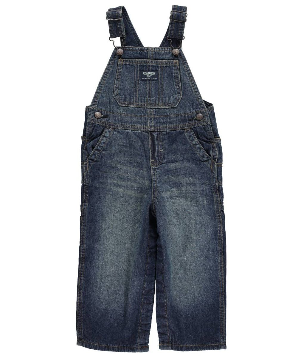 OshKosh Baby Boys' Big Blue Fleece-Lined Overalls 12 months