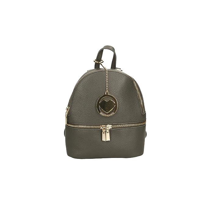 779f982809 Chicca Borse Bag Borsa Zaino in Pelle Made in Italy 18x22x10 cm: Amazon.it:  Scarpe e borse