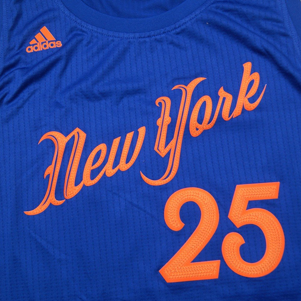 0a46912a0 Amazon.com   Derrick Rose New York Knicks NBA Adidas Men s Blue 2016  Christmas Day Swingman Climacool Jersey (2XL)   Sports   Outdoors