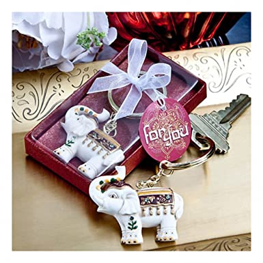 Majestic Elephant Key Chains Great Wedding Favours Birthday Gifts