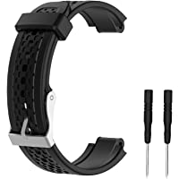 WEINISITE Replacement Silicone Watch Band for Garmin Forerunner 25 Smart Watch