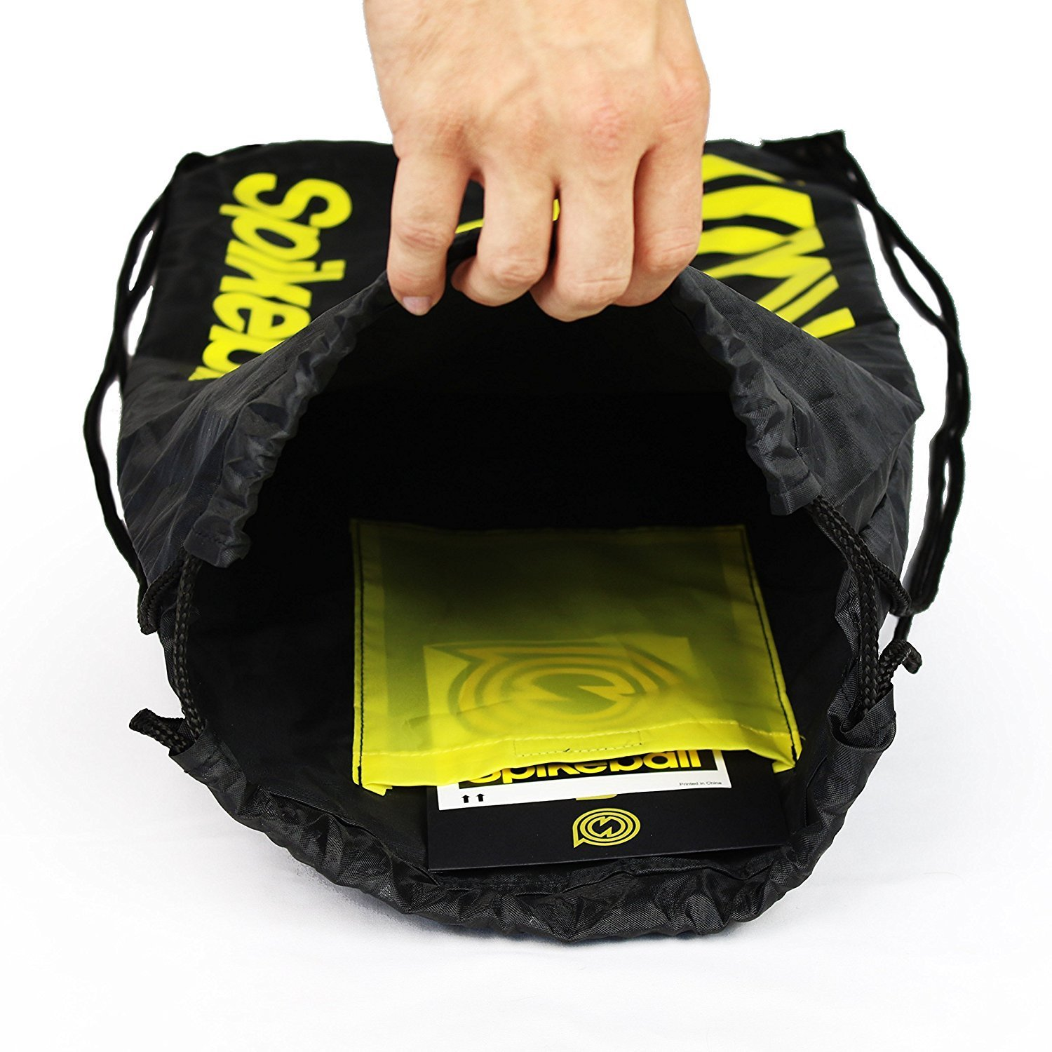 Spikeball 3 Ball Sports Game Set - Outdoor Indoor Gift for Teens, Family - Yard, Lawn, Beach, Tailgate - Includes Playing Net, 3 Balls, Drawstring Bag, Rule Book- As Seen on Shark Tank (3 Ball Set) by Spikeball (Image #8)