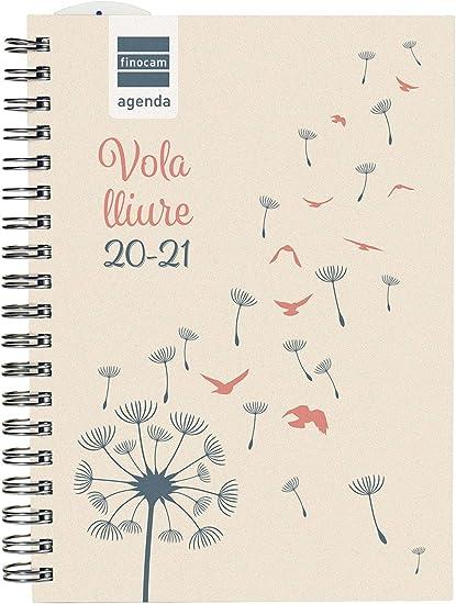 Oferta amazon: Finocam - Agenda Curso 2020-2021 para Secundaria Octavo, 120 x 169, Semana Vista Apaisada Mini Institut Vuela, Catalán