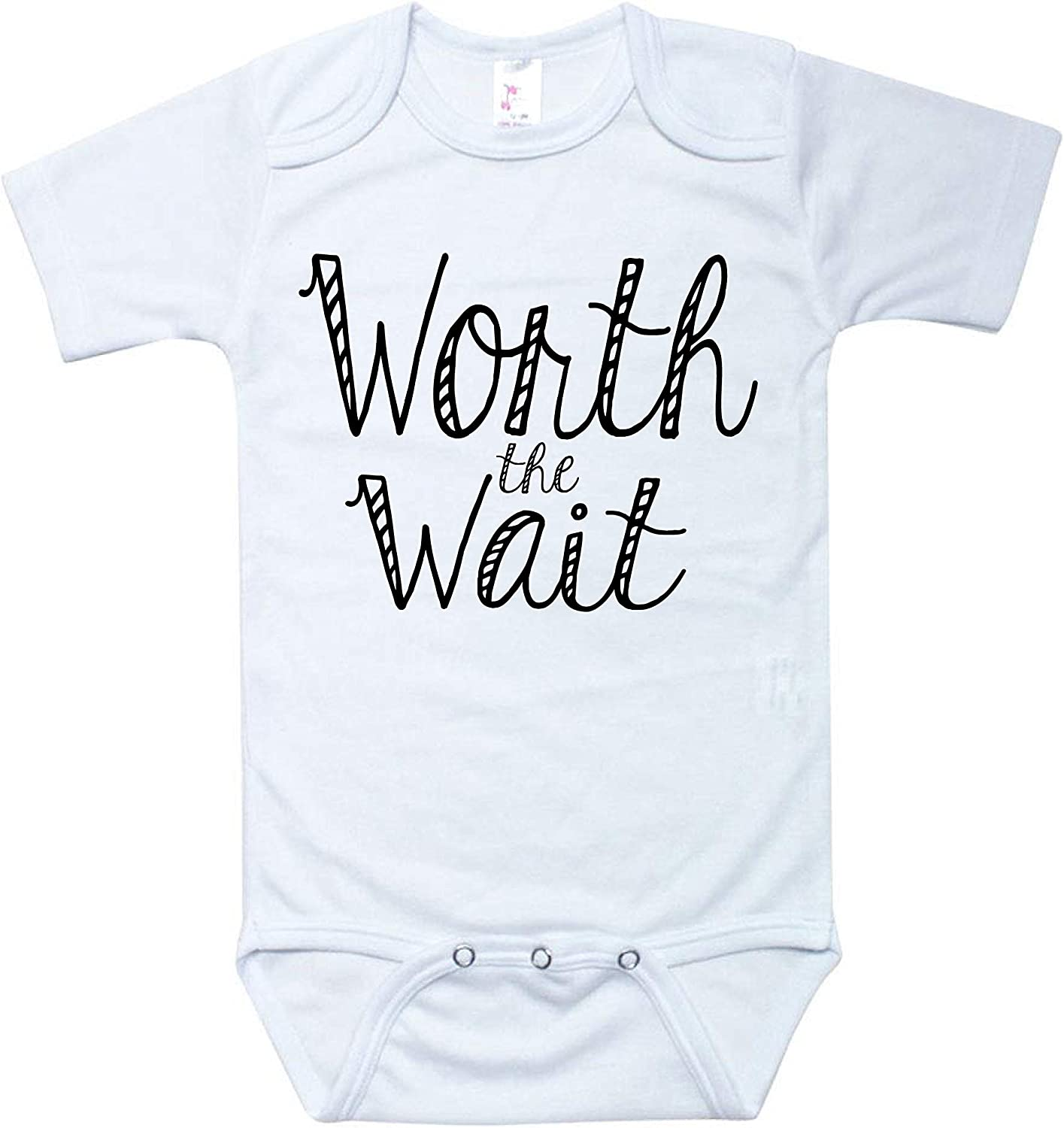Little Adam & Eve Baby - Baby Boys Baby Girls Funny Baby Onesies 0-3 Months