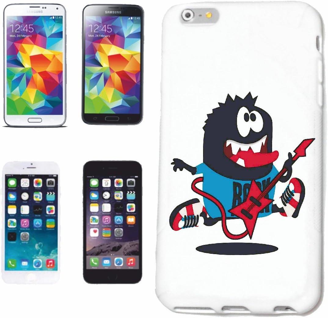 Reifen-Markt Hard Cover - Funda para teléfono móvil Compatible con Sony Xperia Z3 Monstruo del Rock con la Guitarra eléctrica Estrella del Rock Banda DE Rock TECHN
