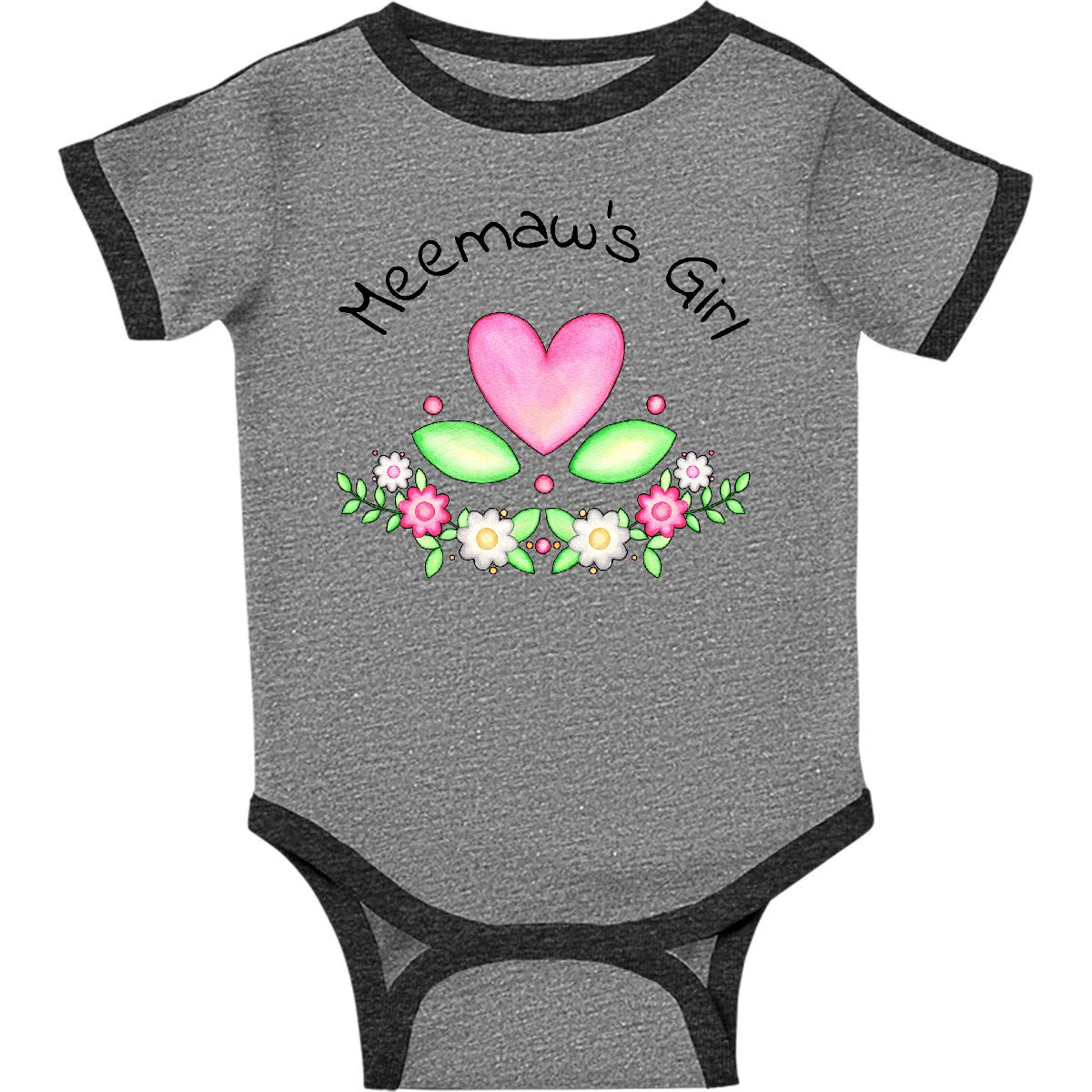 inktastic Wisconsin Home is Where The Heart is with Watercolor Baby T-Shirt
