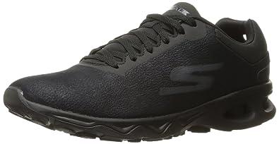 Skechers Performance Women's Go Zip-14838 Walking Shoe, Black, 9 M US