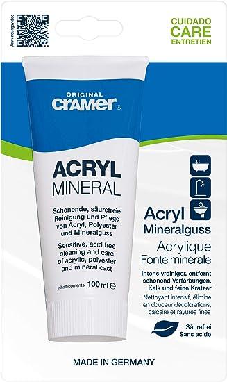 Reinigungspaste Polierpaste Für Acryl Oberflächen Acryl Star 2 In 1 Baumarkt